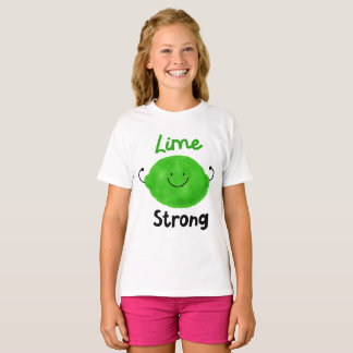 Lime Strong - Girls T-shirt