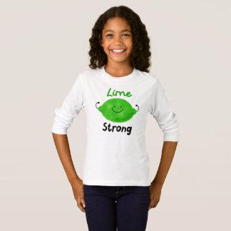 Lime Strong - Girls Tshirt