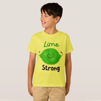 Lime Strong - Kids T-shirt