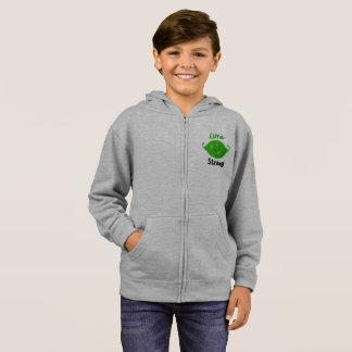 Lime Strong - Kids Zip Hoodie