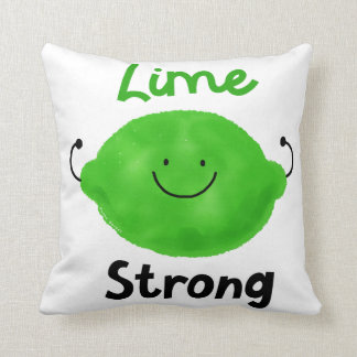 Lime Strong - Pillow