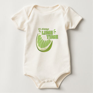 Lime Time Baby Bodysuit