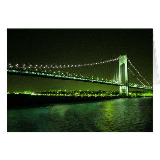 Lime Times Bridge card