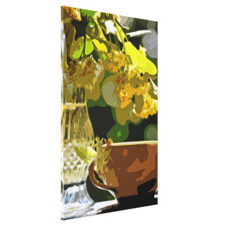 Lime tree blooms canvas print