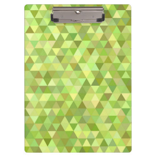 Lime triangles clipboard