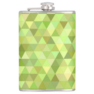 Lime triangles flasks