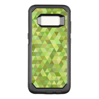 Lime triangles OtterBox commuter samsung galaxy s8 case