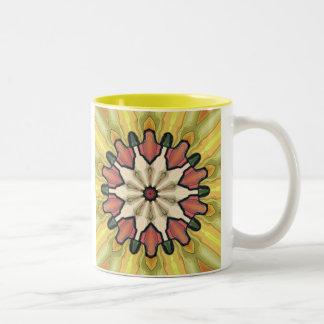 Lime Two-Tone Coffee Mug