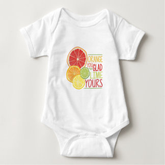 Lime Yours Baby Bodysuit