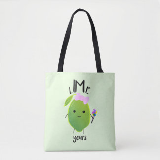LIME YOURS - Tote Bag