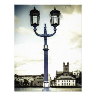 Limerick bridge lamps personalized letterhead