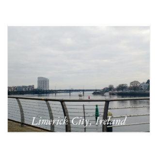 Limerick city Postcard