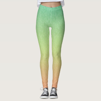 Limes to Lemons to Peaches Multicolored Leggings