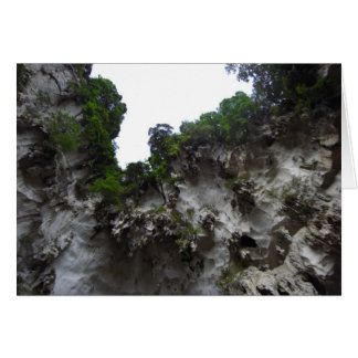 Limestone Caves Card