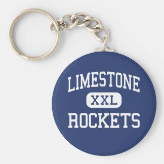 Limestone - Rockets - Community - Bartonville Keychain