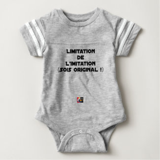 LIMITATION OF THE IMITATION (WOULD BE ORIGINAL!) BABY BODYSUIT