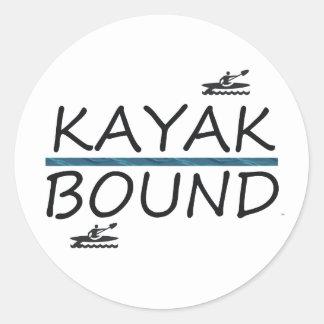 Limite SUPÉRIEURE de kayak Adhésif Rond