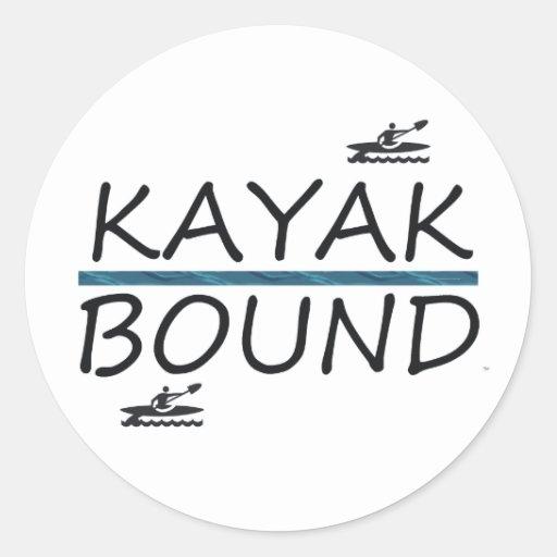 Limite SUPÉRIEURE de kayak Adhésifs