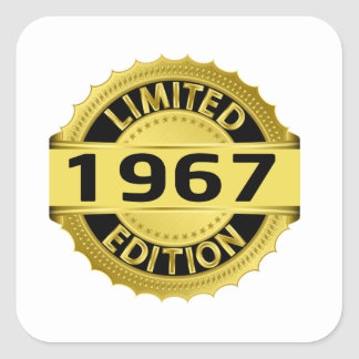 Limited 1967 Edition Square Sticker