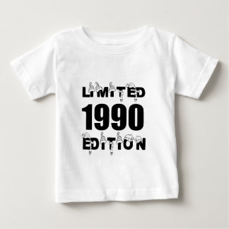 LIMITED 1990 EDITION BIRTHDAY DESIGNS BABY T-Shirt