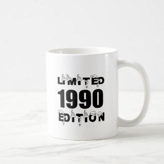 LIMITED 1990 EDITION BIRTHDAY DESIGNS COFFEE MUG