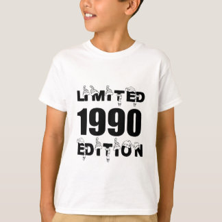 LIMITED 1990 EDITION BIRTHDAY DESIGNS T-Shirt
