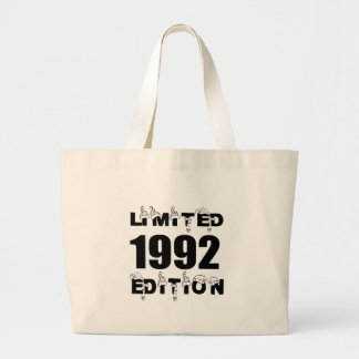LIMITED 1992 EDITION BIRTHDAY DESIGNS LARGE TOTE BAG