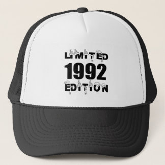LIMITED 1992 EDITION BIRTHDAY DESIGNS TRUCKER HAT
