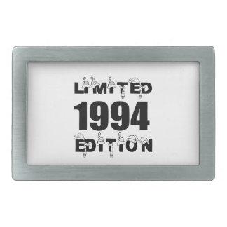LIMITED 1994 EDITION BIRTHDAY DESIGNS BELT BUCKLES