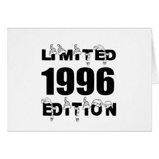 LIMITED 1996 EDITION BIRTHDAY DESIGNS CARD