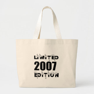 LIMITED 2007 EDITION BIRTHDAY DESIGNS LARGE TOTE BAG