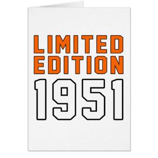 Limited Edition 64 Birthday Designs Card