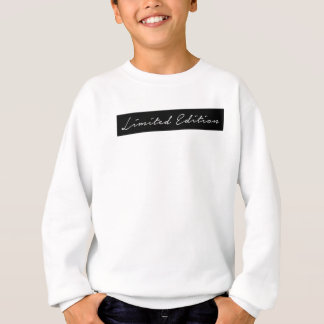 Limited Edition Girl in Hand Written Script Sweatshirt