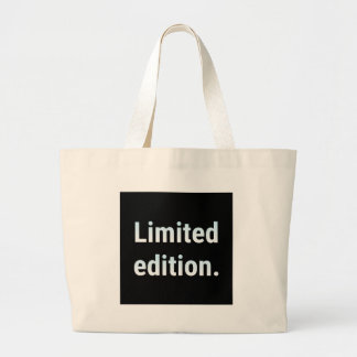 Limited edition in blue/black. large tote bag