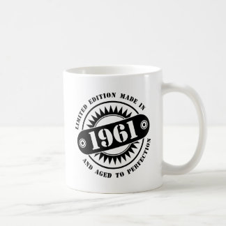LIMITED EDITION MADE IN 1961 COFFEE MUG