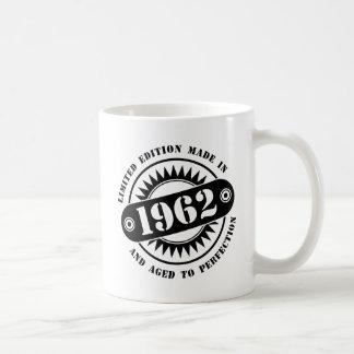 LIMITED EDITION MADE IN 1962 COFFEE MUG