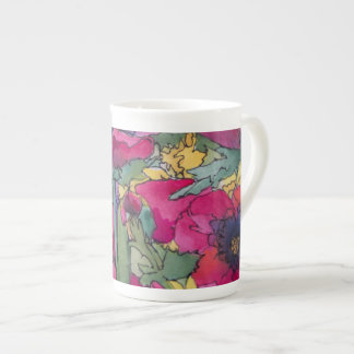 Limited Edition Porcelain Cup, artist Kim Brooks Tea Cup