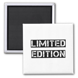 Limited Edition Square Magnet