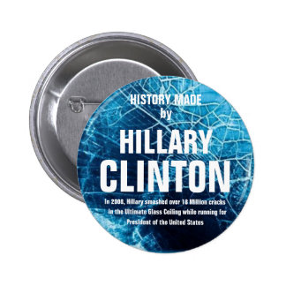 LIMITED!  History Made 2 Inch Round Button