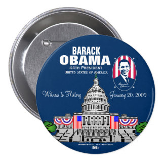 LIMITED:  Witness to History Pinback Button