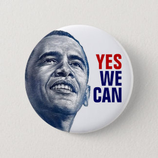 LIMITED:  Yes We Can 2 Inch Round Button