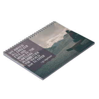 Limitless Possibilities The World Offers Notebook