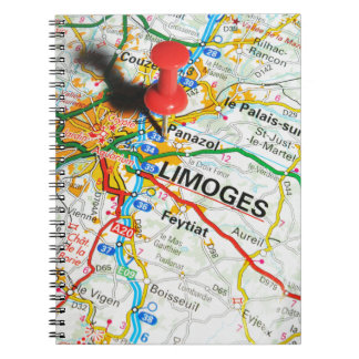 Limoges, France Notebook