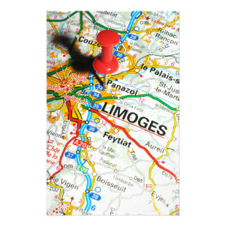 Limoges, France Stationery