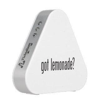 limonade obtenue haut-parleur bluetooth