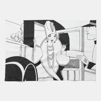 Limousine by Anne Harriet Fish Hand Towels