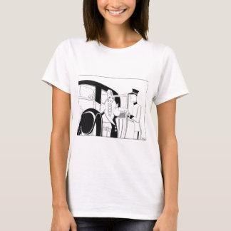 Limousine par des poissons d'Anne Harriet T-shirt