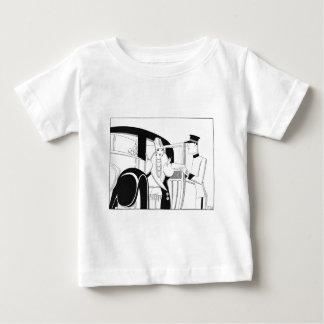 Limousine par des poissons d'Anne Harriet T-shirt Pour Bébé