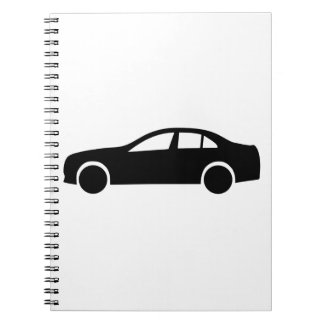 Limousine Silhouette Notebook