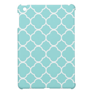 Limpet Shell Blue  Quatrefoil Cover For The iPad Mini